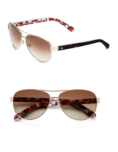 e60486b296 ... Kate Spade New York 58mm Dalia Teardrop Aviator Sunglasses. UPC  716737691915