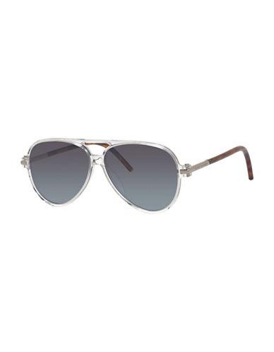 marc jacobs male 188971 single bridge aviator sunglasses