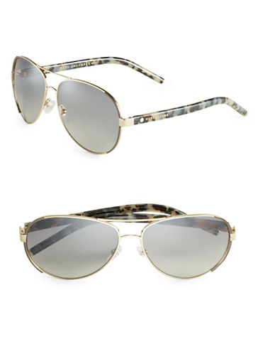 marc jacobs male 201920 60mm aviator sunglasses