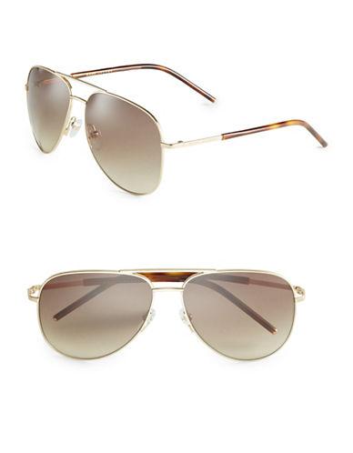 marc jacobs male 188971 59mm aviator sunglasses