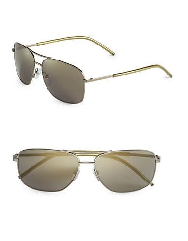 marc jacobs male 45900 59mm aviator sunglasses