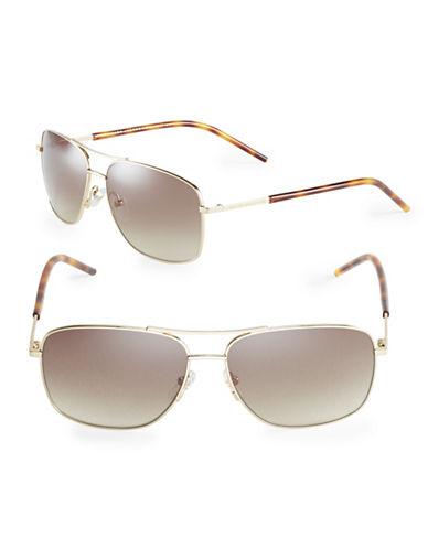 marc jacobs male 220183 59mm aviator sunglasses