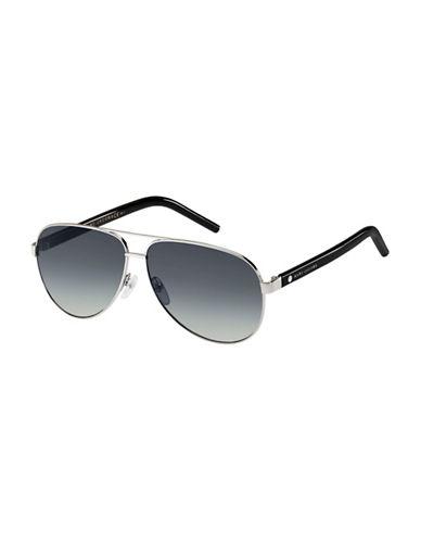 marc jacobs male 220183 60mm aviator sunglasses