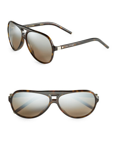 marc jacobs male 211468 60mm aviator sunglasses