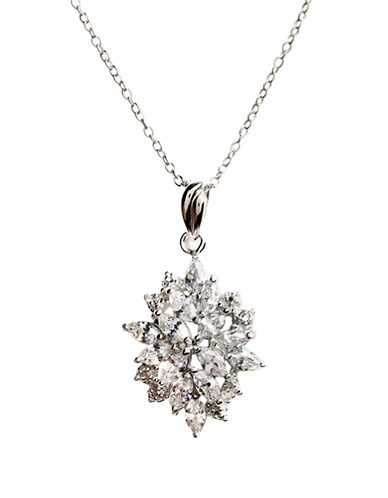 LORD & TAYLORSterling Silver Large Flower Pendant Necklace