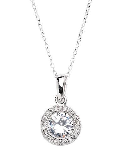 LORD & TAYLOR3D Circular Pendant Necklace