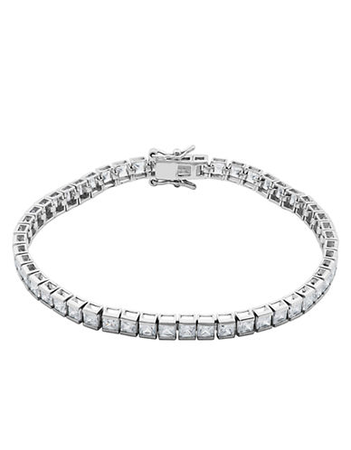 LORD & TAYLORSterling Silver Bezel-Set Cubic Zirconia Tennis Bracelet