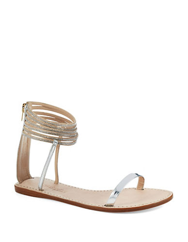 SEBASTIANRhinestone Accented Sandals