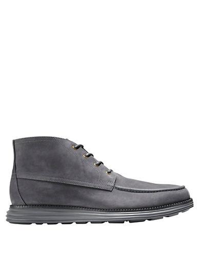 COLE HAANLunargrand Leather Moc Chukka Boots