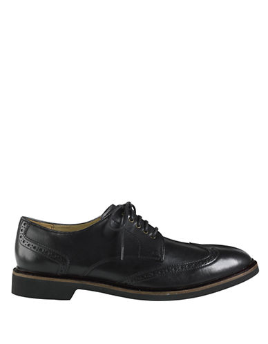 COLE HAAN Phinney Leather Wingtip Oxfords