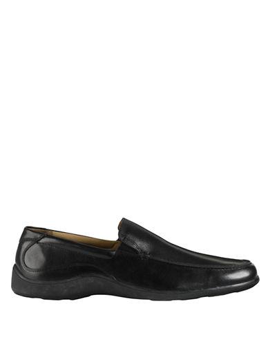 COLE HAAN Dalton Leather Two-Gore Loafers