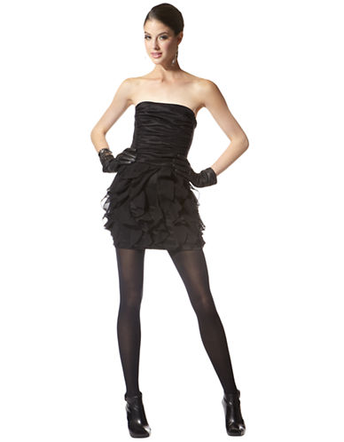 Strapless Stretch Taffeta Dress