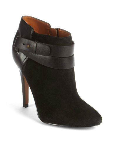 NINE WESTBrettly Leather Ankle Boots