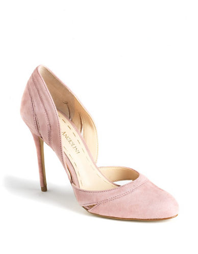 ENZO ANGIOLINI Dollton Suede D'Orsay Pumps