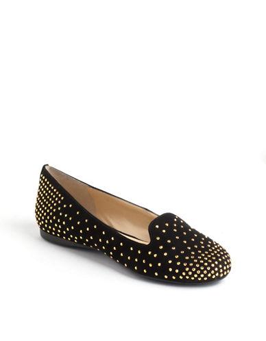 ENZO ANGIOLINIOmanie Embellished Suede Loafers