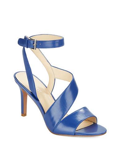 NINE WESTIbby Leather Stiletto Sandals