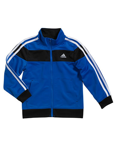 ADIDAS Boys 2-7 Striped Tricot Jacket