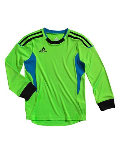 ADIDASBoys 2-7 Long Sleeve Soccer Tee