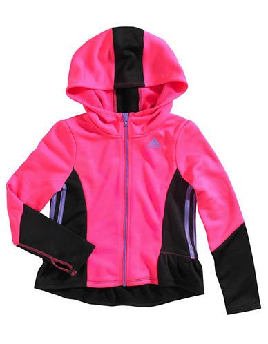 ADIDASGirls 2-6x Climawarm Colorblocked Jacket