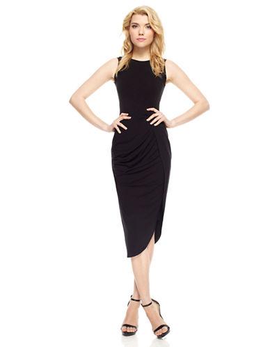 MUSEWrap Front Jersey Dress
