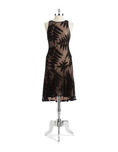 MAGGY LONDONLace A Line Dress