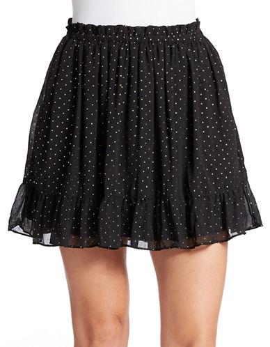 GUESSPolka Dot Skater Skirt