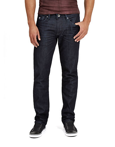 GUESS Slim Straight Leg Jeans