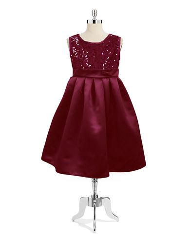 DORISSAGirls 2-6x Cleo Sequined Full Skirted Dress