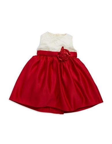 DORISSATulled and Bow Holiday Dress