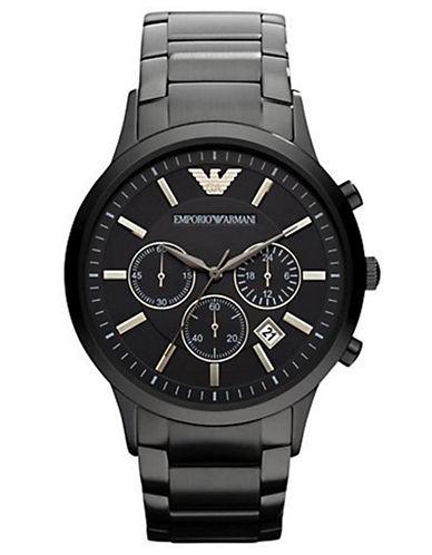 EMPORIO ARMANIMen's Stainless Steel Chronograph Watch