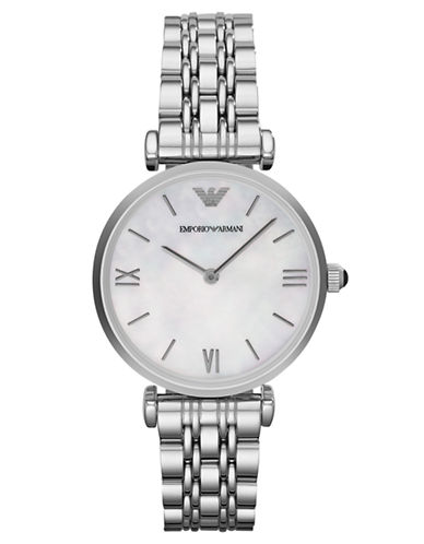 EMPORIO ARMANI Ladies Gianni Stainless Steel Watch