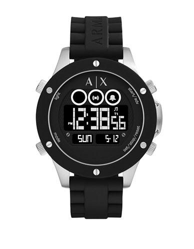 LCD Wellworn Round Two-Piece Strap Watch