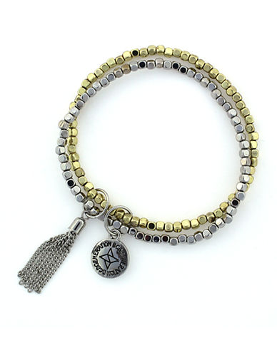 BCBGENERATIONDouble Beaded Bracelet