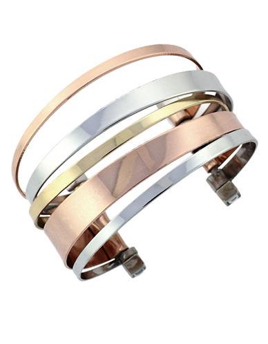BCBGENERATIONTri-Tone Cuff Bracelet