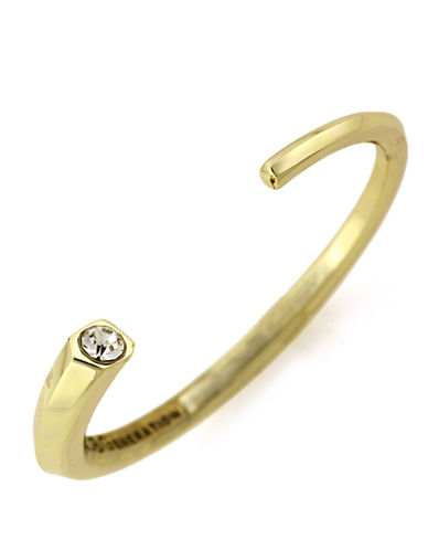 BCBGENERATION Gold-Tone Tapered Cuff Bracelet