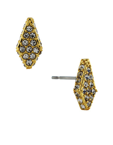 VINCE CAMUTOGold Plated Crystal Pave Stud Earrings