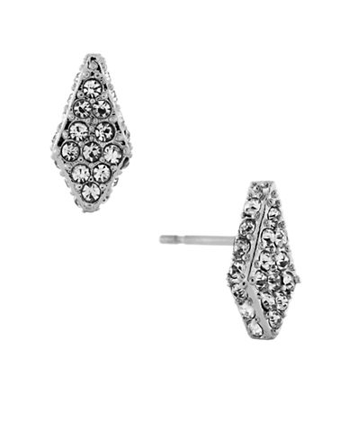 VINCE CAMUTORhodium Plated Crystal Pave Stud Earrings