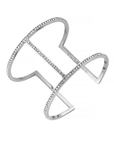 VINCE CAMUTOSilver Tone T Bar Cuff Bracelet