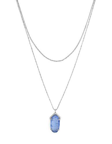 VINCE CAMUTOIridescent Charm Double Pendant Necklace