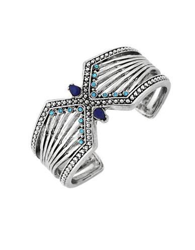 BCBGENERATIONMega Cuffs Bead-Edged Sunray Bracelet