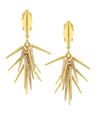 VINCE CAMUTO Gold-Plated Shaky Drop Earrings