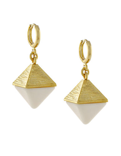 VINCE CAMUTO Gold-Plated Cone Drop Earrings