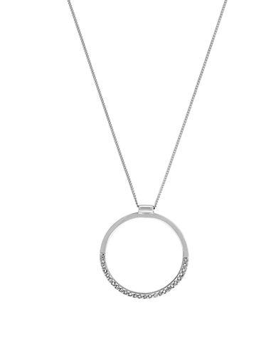 BCBGENERATIONGlitz Circle Pendant Necklace