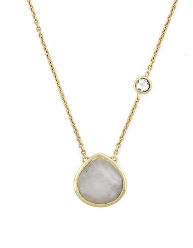 COLE HAANRainbow Quartz Pendant Necklace