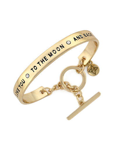 BCBGENERATIONSpoken Words Crystal Bangle Bracelet