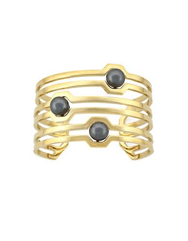 LOUISE ET CIEKammenstrat Faux Pearl Cuff Bracelet