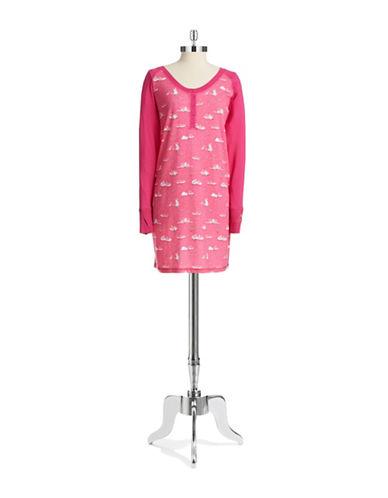 MUNKI MUNKIBunny Patterned Sleep Shirt
