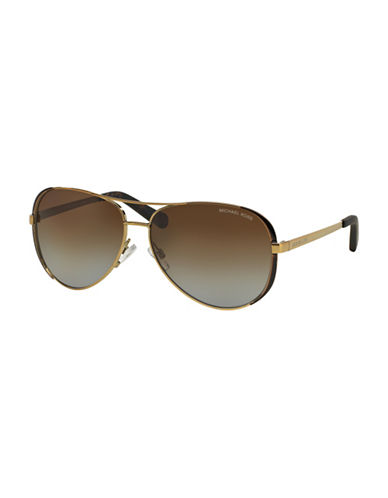 michael kors female 211468 59mm chelsea pilot sunglasses