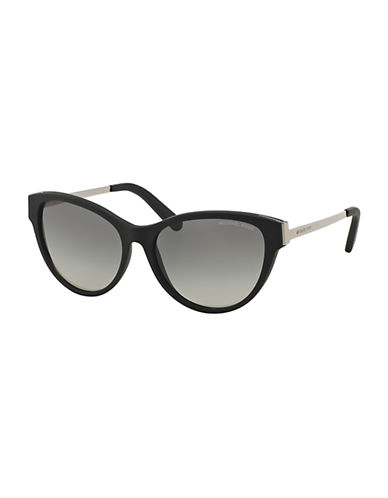 michael kors female punte arenas cateye 57mm sunglasses