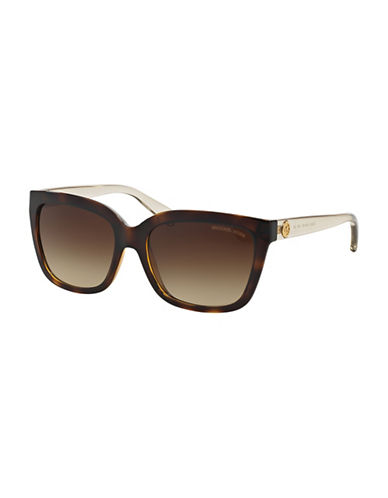 michael kors female 211468 54mm sandestin square gradient sunglasses